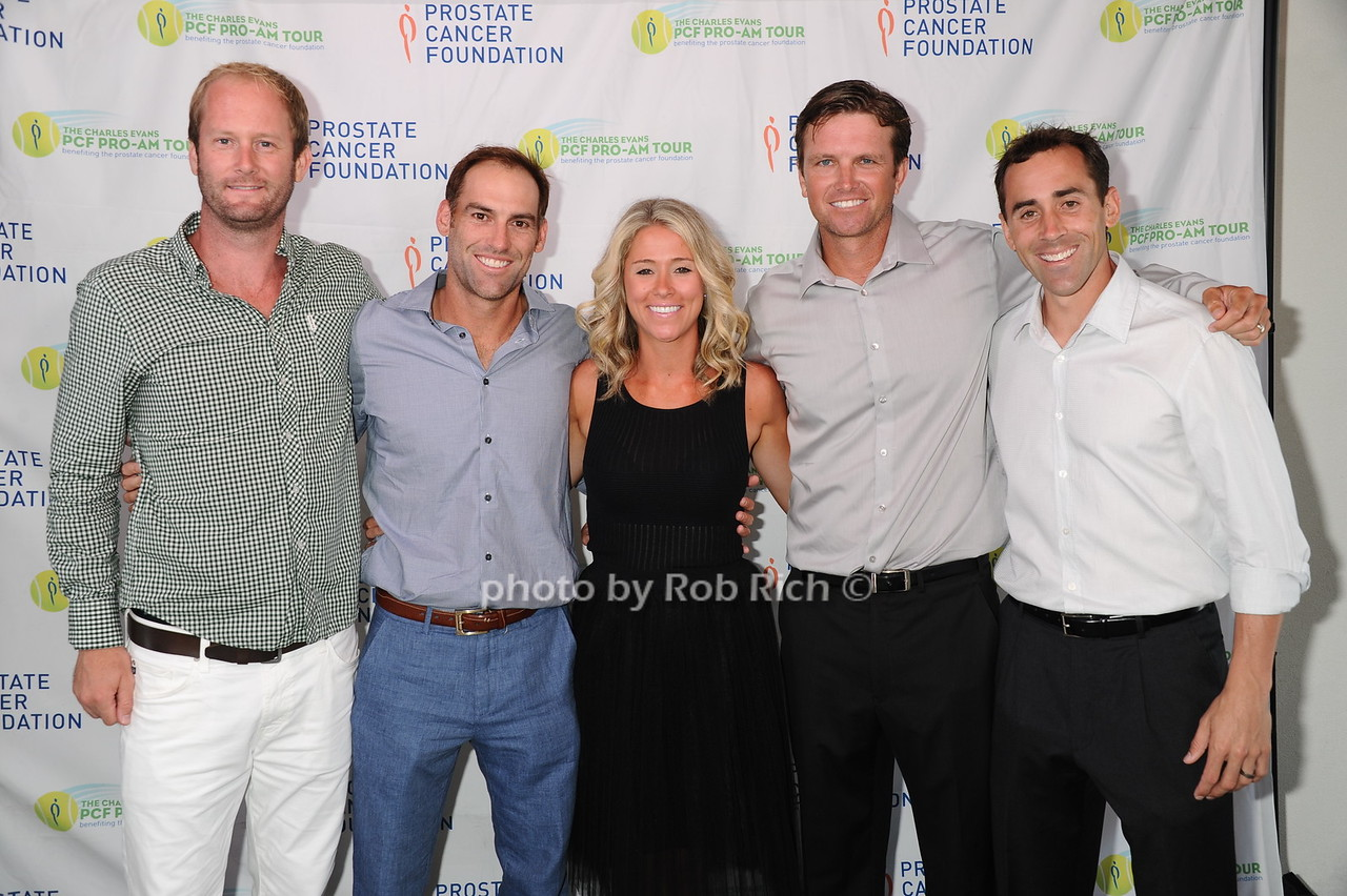 Ryan Livesay, Robby Ginepri, Josephine Ginepri, Robert Kendrick, and Bobby Reynolds
