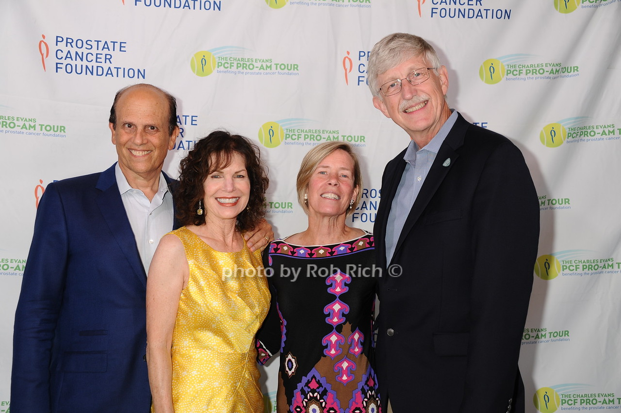 Mike Milken, Lori Milken, Francis Collins and Diane Baker