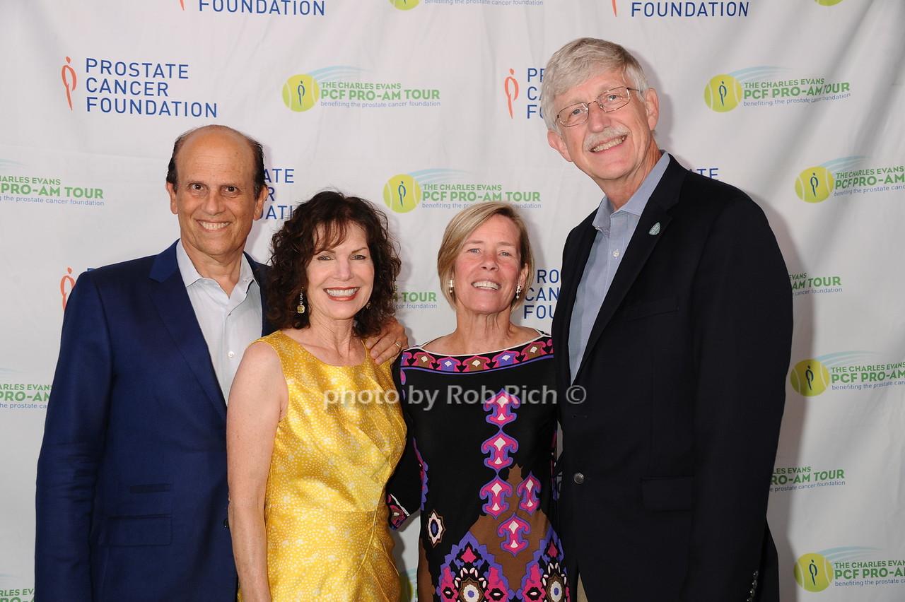 Mike Milken, Lori Milken, Francis Collins and Diane Bakerphoto by Rob Rich/SocietyAllure.com © 2016 robwayne1@aol.com 516-676-3939