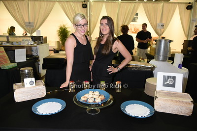 "Emily Costa and Jennifer Costa attend the Samuel Waman Cancer Research Foundation 12th.Annual ""A Hamptons Happening"" at the private residence of Ken and Maria Fishel in Bridgehamton on July 9, 2016."