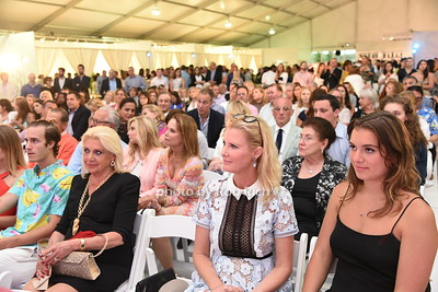 "Crowds of people  attend the Samuel Waman Cancer Research Foundation 12th.Annual ""A Hamptons Happening"" at the private residence of Ken and Maria Fishel in Bridgehamton on July 9, 2016."