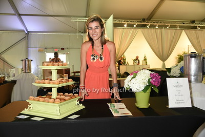 "Fernanda Capobianco attends the Samuel Waman Cancer Research Foundation 12th.Annual ""A Hamptons Happening"" at the private residence of Ken and Maria Fishel in Bridgehamton on July 9, 2016."