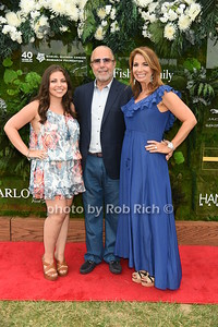 """Ali Zarin, Bobby Zarin, and Jill Zarin attend the Samuel Waman Cancer Research Foundation 12th.Annual """"A Hamptons Happening"""" at the private residence of Ken and Maria Fishel in Bridgehamton on July 9, 2016."""