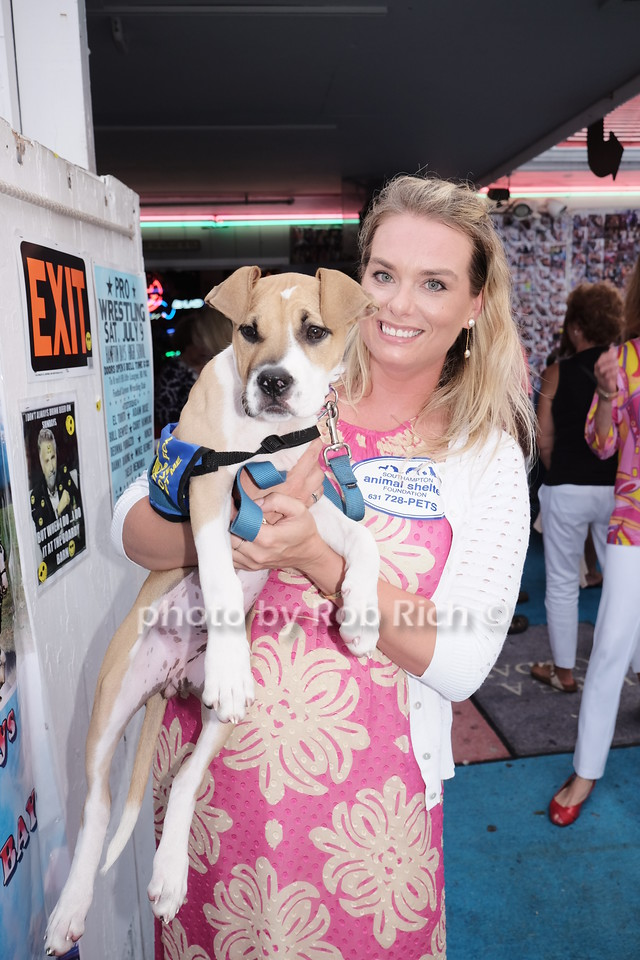 Katie McEntee and Mocha the dog