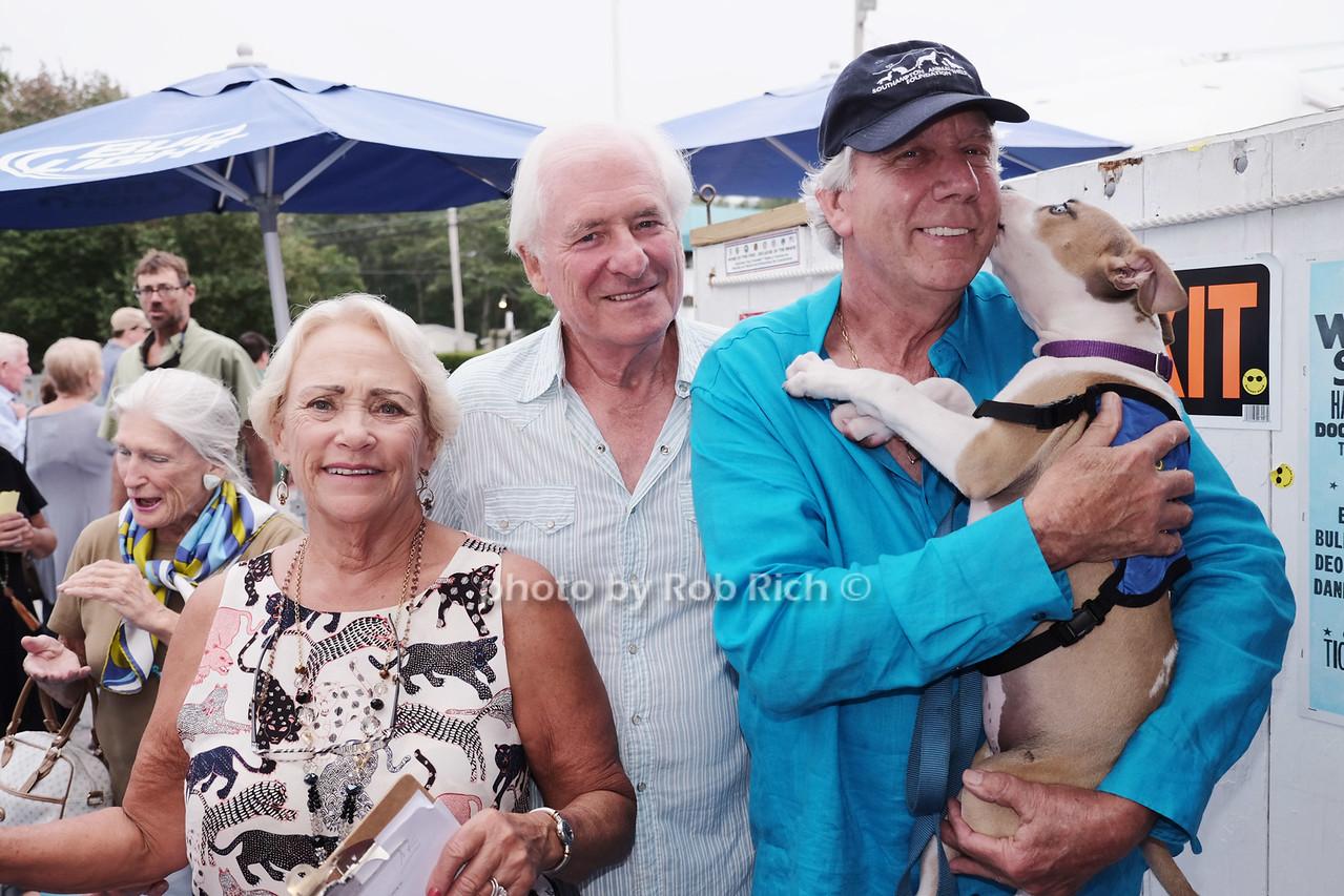 Susie Kinschers, Anthony Coron, John McCann, and Mocha the dog photo by Rob Rich/SocietyAllure.com © 2016 robwayne1@aol.com 516-676-3939