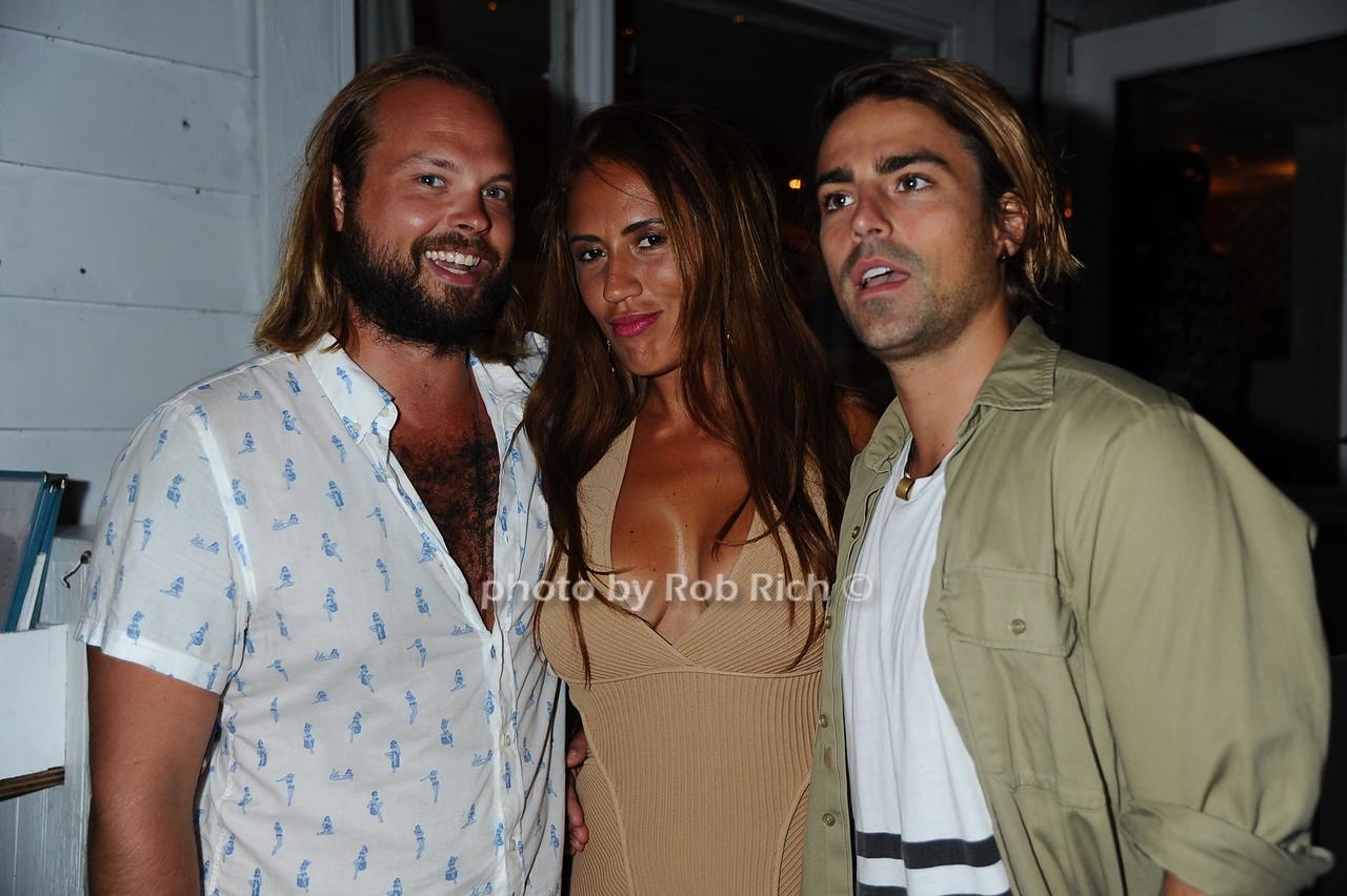 Marco Striuli, Marianna Mejias, and Oliver Benzphoto by Rob Rich/SocietyAllure.com © 2016 robwayne1@aol.com 516-676-3939