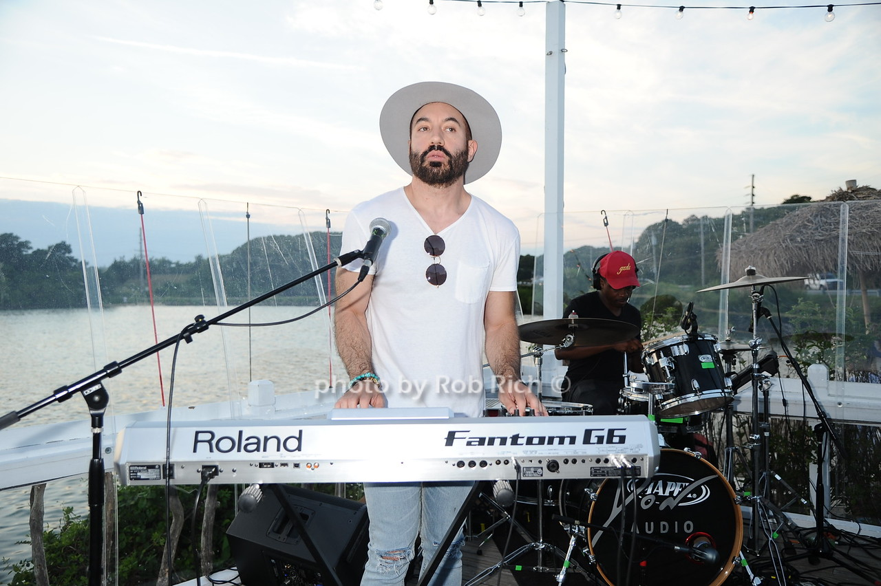 Lipstick Gypsey keyboardist Chris Liggio