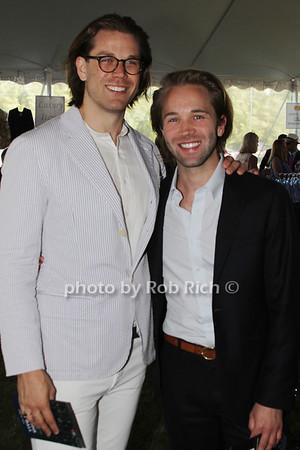 Erik George and Robbie Gordy