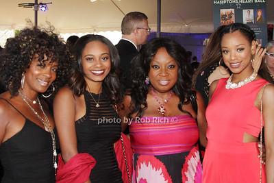Vanessa Bell Calloway, Alexandra Calloway, Star Jones and Kylie Jefferson