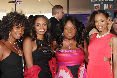 Vanessa Bell Calloway, Alexandra Calloway, Star Jones and Kylie Jefferson