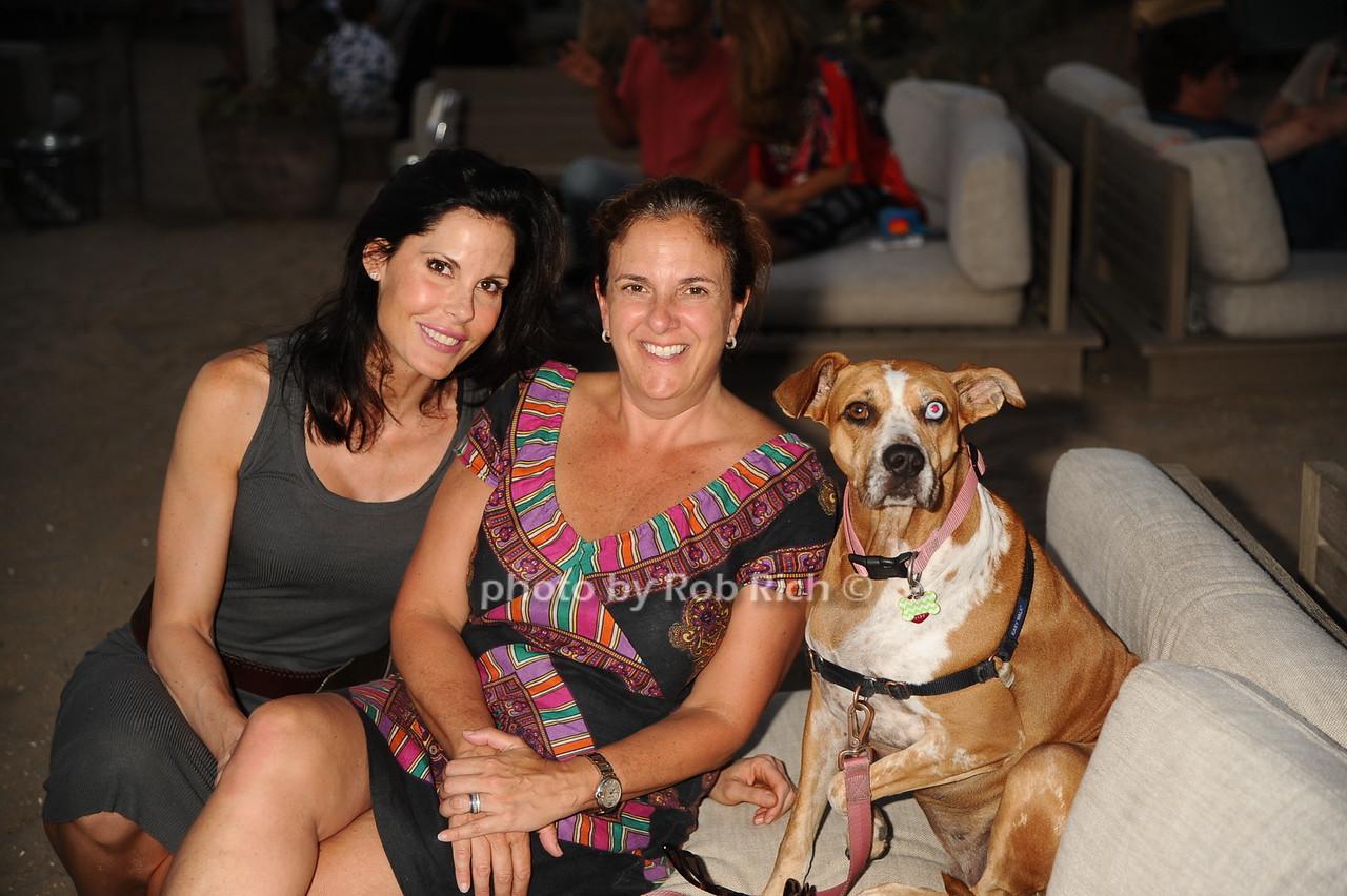Rachel Thompson,Regina Oertle, and Ava the dogphoto by Rob Rich/SocietyAllure.com © 2016 robwayne1@aol.com 516-676-3939