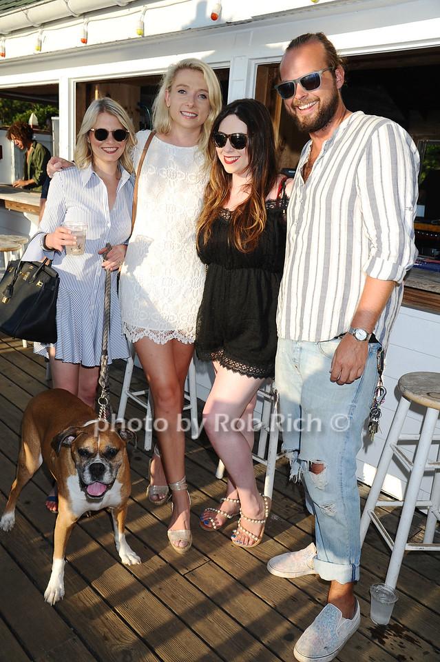 Lily the dog, Lauren Stapz, Kristina Gabler, Catherine Gargan, Marco Striuli