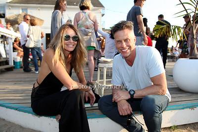 Elle Macpherson and Randy Scott