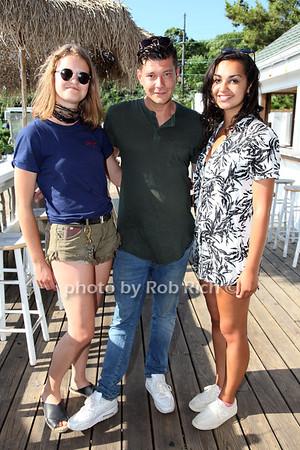 Nicole Abt, William Hoff and Emma Villaruvo