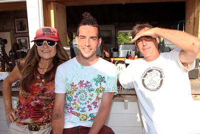 Lynn Blue, Alejandro Louvo and Dan Sullivan