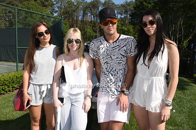 Danielle Naftali,Sydney Sadick,Fashion designer Andrew Warren, and Alana Miller photo by Rob Rich/SocietyAllure.com © 2016 robwayne1@aol.com 516-676-3939