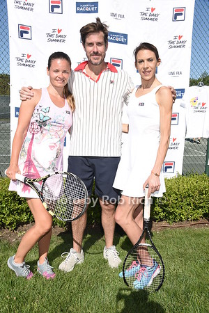 Kik Hajkova, Mark Tevis, and 2013 Wimbledon Champion Marion Bartoli photo by Rob Rich/SocietyAllure.com © 2016 robwayne1@aol.com 516-676-3939
