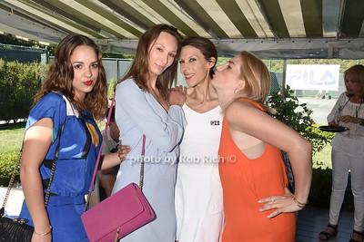 Eliza Sterling, Karolina Sowa, Maiana Bartoli, and Jennifer McDowell  photo by Rob Rich/SocietyAllure.com © 2016 robwayne1@aol.com 516-676-3939