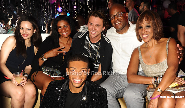 guest, Nina Whittington Cooper, Frank Cooper, Gayle King, Max Cooper photo by Rob Rich/SocietyAllure.com © 2016 robwayne1@aol.com 516-676-3939