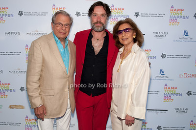 Dr.Samuel Waxman and Rufus Wainwright and Marion Waxman photo by D.Gonzalez for Rob Rich/SocietyAllure.com ©2017 robrich101@gmail.com 516-676-3939