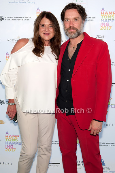 Karen Amster-Young and Rufus Wainwright photo by D.Gonzalez for Rob Rich/SocietyAllure.com ©2017 robrich101@gmail.com 516-676-3939