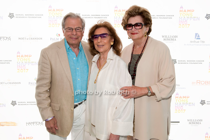 Samuel Waxman and Marion Waxman and Margaret Hayes photo by D.Gonzalez for Rob Rich/SocietyAllure.com ©2017 robrich101@gmail.com 516-676-3939