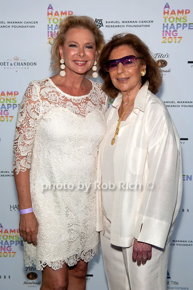 Pamela Morgan and Marion Waxman photo by D.Gonzalez for Rob Rich/SocietyAllure.com ©2017 robrich101@gmail.com 516-676-3939