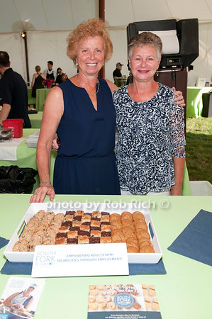 Chef Shirley Ruch and Marcia Morelock - South Fork Bakery photo by D.Gonzalez for Rob Rich/SocietyAllure.com ©2017 robrich101@gmail.com 516-676-3939