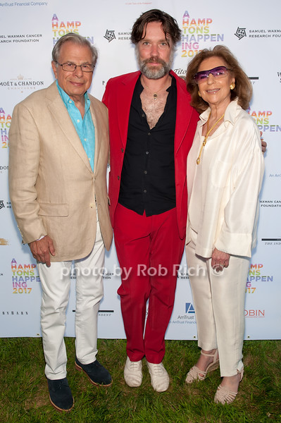 Dr. Samuel Waxman and Rufus Wainwright and Marion Waxman photo by D.Gonzalez for Rob Rich/SocietyAllure.com ©2017 robrich101@gmail.com 516-676-3939