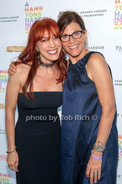 Norena Barbella and Bobbie Lloyd photo by D.Gonzalez for Rob Rich/SocietyAllure.com ©2017 robrich101@gmail.com 516-676-3939