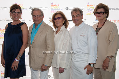Bobbie Lloyd and Dr.Samuel Waxman and Marion Waxman Chef Gabriel Kreuther and Margaret Hayes photo by D.Gonzalez for Rob Rich/SocietyAllure.com ©2017 robrich101@gmail.com 516-676-3939