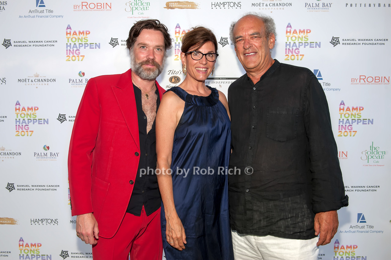 Rufus Wainwright and Bobbie Lloyd and Shep Gordon photo by D.Gonzalez for Rob Rich/SocietyAllure.com ©2017 robrich101@gmail.com 516-676-3939