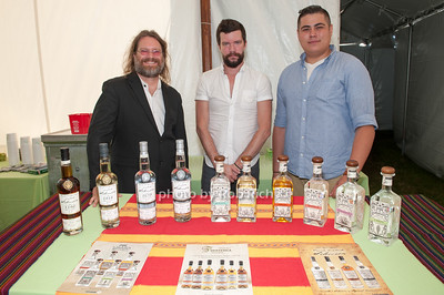 Chris Hiat and Billy Muncy and Carlos Pena - Don Amado Mezcal photo by D.Gonzalez for Rob Rich/SocietyAllure.com ©2017 robrich101@gmail.com 516-676-3939
