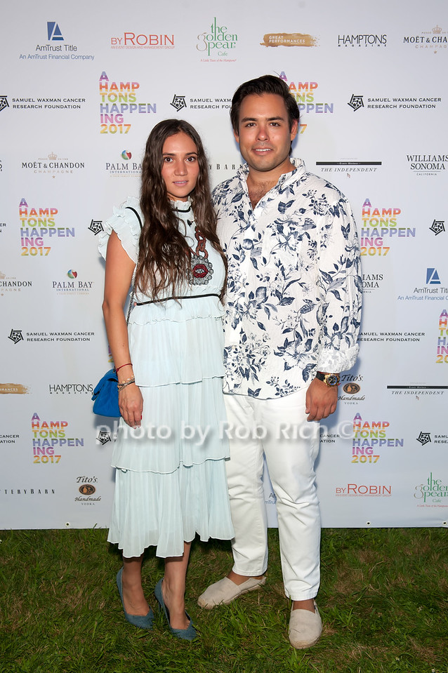 Erica Boginsky and Michael Bodnev photo by D.Gonzalez for Rob Rich/SocietyAllure.com ©2017 robrich101@gmail.com 516-676-3939