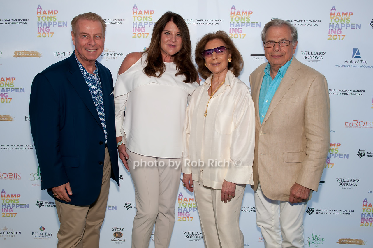 William T. Sullivan and Karen Amster- Young and Marion Waxman and Dr.Samuel Waxman photo by D.Gonzalez for Rob Rich/SocietyAllure.com ©2017 robrich101@gmail.com 516-676-3939