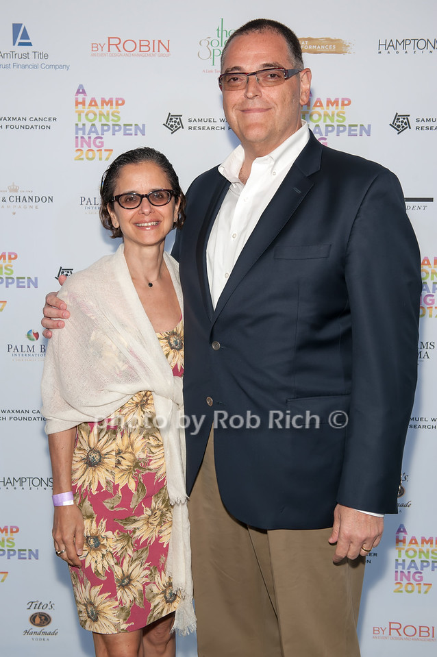 Maxine Friedman and Mark D. Friedman photo by D.Gonzalez for Rob Rich/SocietyAllure.com ©2017 robrich101@gmail.com 516-676-3939