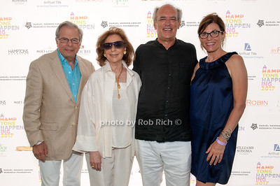 Dr.Samuel Waxman and Marion Waxman and Shep Gordon and Bobbie Lloyd photo by D.Gonzalez for Rob Rich/SocietyAllure.com ©2017 robrich101@gmail.com 516-676-3939
