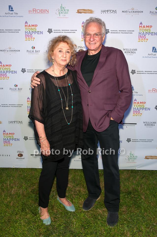 Sybil Yurman and David Yurman  photo by D.Gonzalez for Rob Rich/SocietyAllure.com ©2017 robrich101@gmail.com 516-676-3939