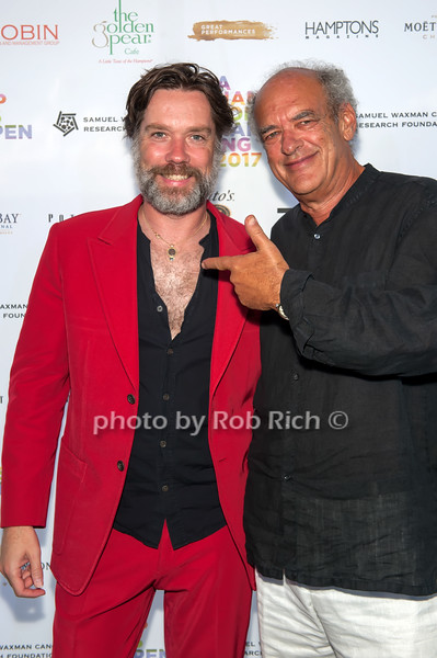 Rufus Wainwright and Shep Gordon photo by D.Gonzalez for Rob Rich/SocietyAllure.com ©2017 robrich101@gmail.com 516-676-3939