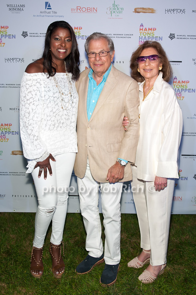 Lori Stokes and Dr.Samuel Waxman and Marion Waxman  photo by D.Gonzalez for Rob Rich/SocietyAllure.com ©2017 robrich101@gmail.com 516-676-3939