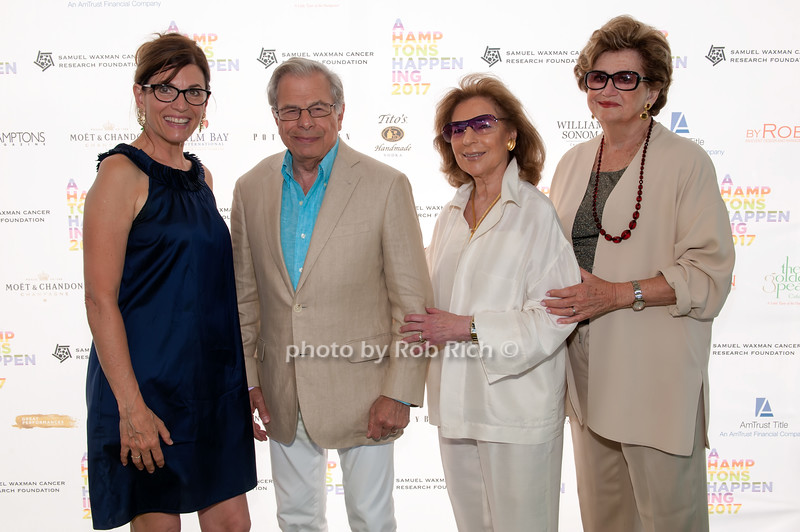 Bobbie Lloyd and Dr.Samuel Waxman and Marion Waxman and Margaret Hayes photo by D.Gonzalez for Rob Rich/SocietyAllure.com ©2017 robrich101@gmail.com 516-676-3939