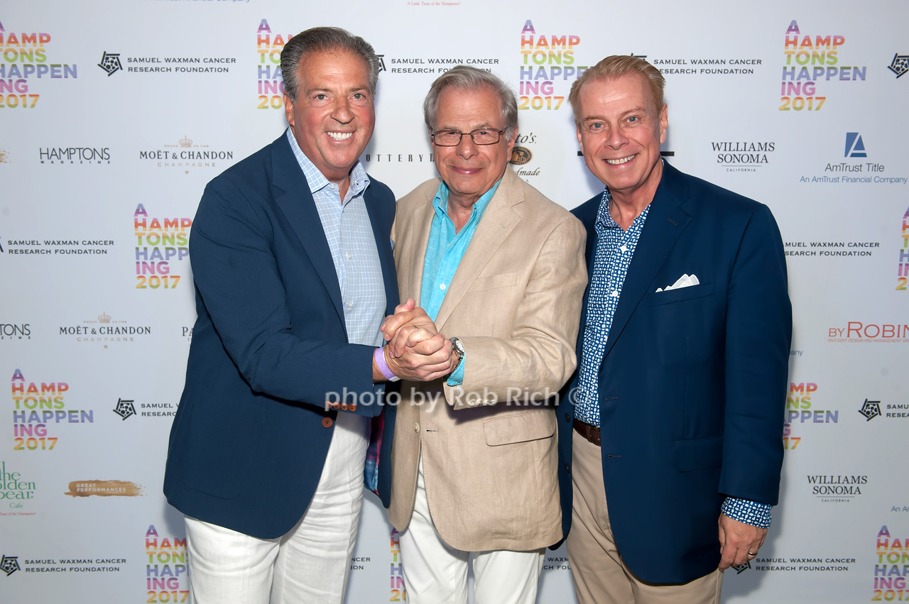 Glenn Myles and Dr.Samuel Waxman and William T. Sullivan photo by D.Gonzalez for Rob Rich/SocietyAllure.com ©2017 robrich101@gmail.com 516-676-3939