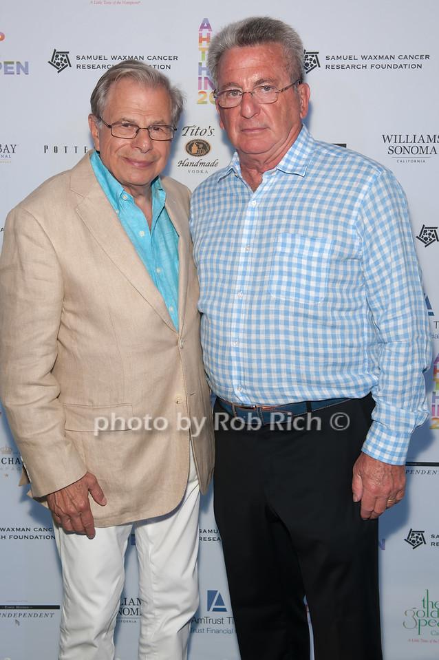 Dr.Samuel Waxman and  Robert Weiner photo by D.Gonzalez for Rob Rich/SocietyAllure.com ©2017 robrich101@gmail.com 516-676-3939