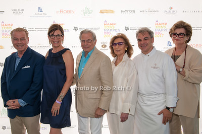 William T. Sullivan and Bobbie Lloyd and Samuel Waxman and Marion Waxman Chef Gabriel Kreuther and Margaret Hayes photo by D.Gonzalez for Rob Rich/SocietyAllure.com ©2017 robrich101@gmail.com 516-676-3939