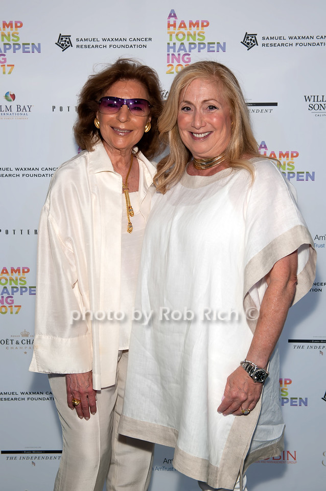 Marion Waxman and Laurie Schaffran photo by D.Gonzalez for Rob Rich/SocietyAllure.com ©2017 robrich101@gmail.com 516-676-3939