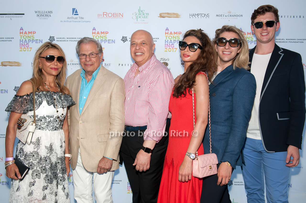 Nicole Salmasi and Dr.Samuel Waxman and Allen Salamasi and Krista Salmasi and George Mickum and Daniel Fowler photo by D.Gonzalez for Rob Rich/SocietyAllure.com ©2017 robrich101@gmail.com 516-676-3939