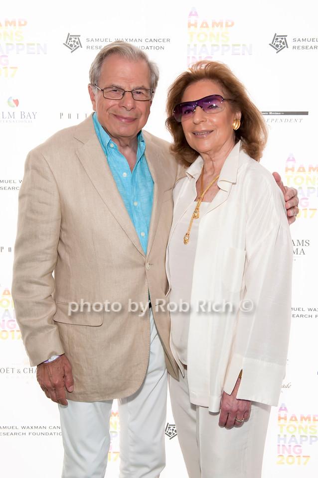 Dr. Samuel Waxman and Marion Waxman photo by D.Gonzalez for Rob Rich/SocietyAllure.com ©2017 robrich101@gmail.com 516-676-3939