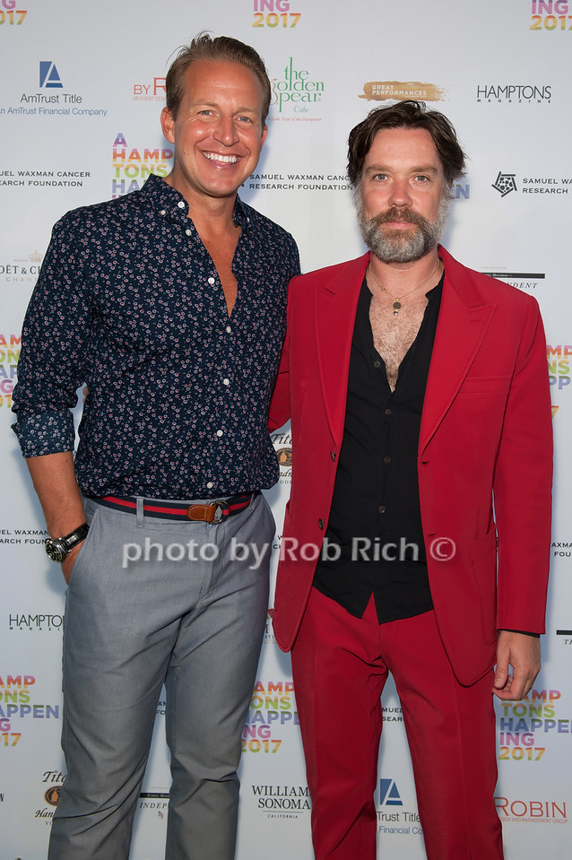 Chris Wragge and Rufus Wainwright photo by D.Gonzalez for Rob Rich/SocietyAllure.com ©2017 robrich101@gmail.com 516-676-3939