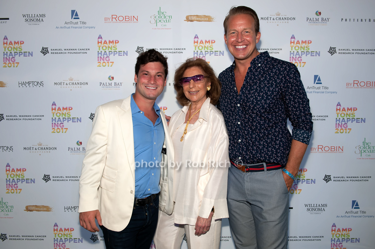 Jake Taub and Marion Waxman and Chris Wragge photo by D.Gonzalez for Rob Rich/SocietyAllure.com ©2017 robrich101@gmail.com 516-676-3939
