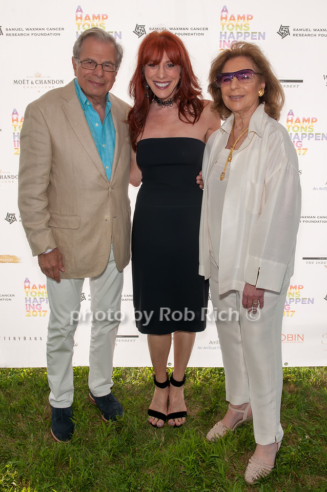 Dr.Samuel Waxman and Norena Barbella and Marion Waxman photo by D.Gonzalez for Rob Rich/SocietyAllure.com ©2017 robrich101@gmail.com 516-676-3939
